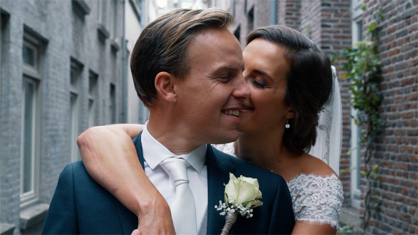Joppe en Marloes trouwclip