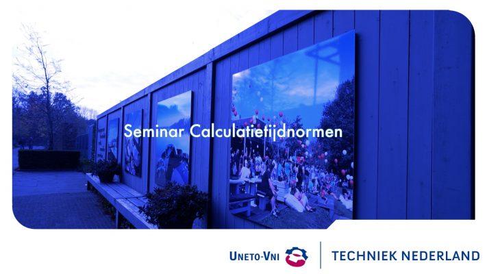 Seminar Calculatietijdnormen
